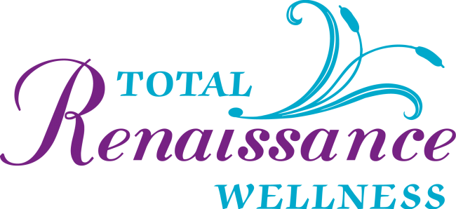 Total Renaissance Wellness Logo Vector Color